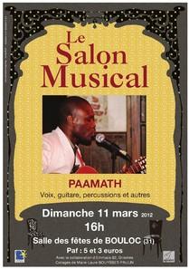 * Bouloc, dim 11 mars: salon musical